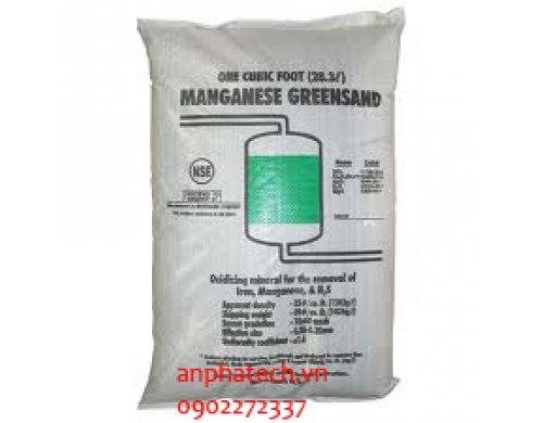 Vật liệu lọc nước - Cát xanh Mangan - 1