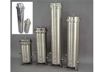 Cột lọc nước inox ứng dụng trong hệ thống lọc nước sạch cho gia đình